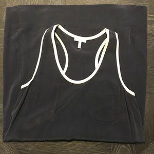 Joie Peri Black Silk Tank Dress xs